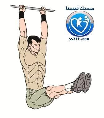 تمارين عضلات البطن السفلية