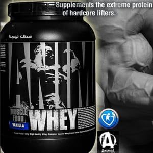 انيمال واى بروتين animal whey protein