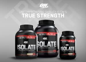 Optimum Nutrition Isolate Protein