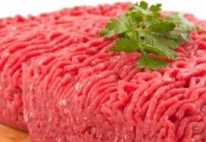 اللحم المفروم من افضل مصادر البروتين للاعب كمال الاجسام